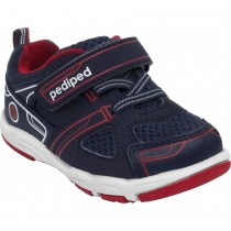 ~NEW~ Pediped Grip 'n' Go for Boys - Mars Navy Red Athletic Shoe