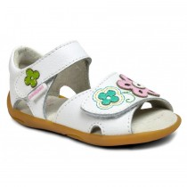 ~NEW~ Pediped Grip 'n' Go for Girls - Leana White Multi Sandal