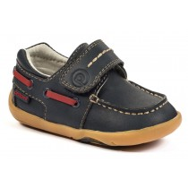 ~NEW~ Pediped Grip 'n' Go for Boys - Norm Navy Boat Shoe