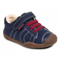 ~NEW~ Pediped Grip 'n' Go for Boys - Jake Navy Red Sneaker
