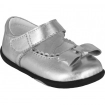 Pediped Grip 'n' Go for Girls - Betty Silver Mary Jane
