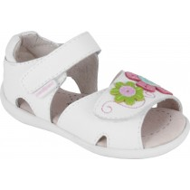 Pediped Grip 'n' Go for Girls - Savannah White Multi Sandal