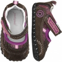 ~NEW~ Pediped Originals for Girls  - Dakota Brown Mary Jane