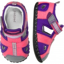 ~NEW~ Pediped Originals for Girls  - Sahara Fuchsia Lavender Sandal