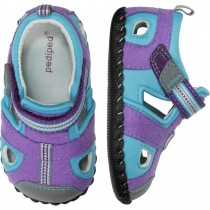 ~NEW~ Pediped Originals for Girls  - Sahara Lavender Turquoise Sandal