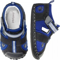 ~NEW~ Pediped Originals for Boys  - Sahara Black King Blue Sandal