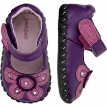 ~NEW~ Pediped Originals for Girls  - Selena Purple Mary Jane