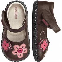 ~NEW~ Pediped Originals for Girls  - Lorraine Chocolate Mary Jane
