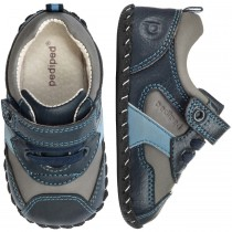 ~NEW~ Pediped Originals for Boys  - Franklin Navy Grey