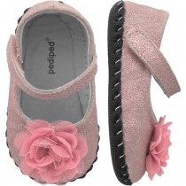 Pediped Originals for Girls - Stella Pink Ballet Flat