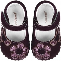 Pediped Originals for Girls - Abigail Purple Mary Jane