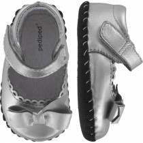 Pediped Originals for Girls - Betty Silver Mary Jane