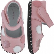 Pediped Originals for Girls - Giselle Mid Pink Mary Jane