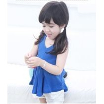 Cotton Blouse ZGT 312 Blue