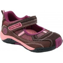 Pediped Flex for Girls - Dakota Brown Athletic Shoe
