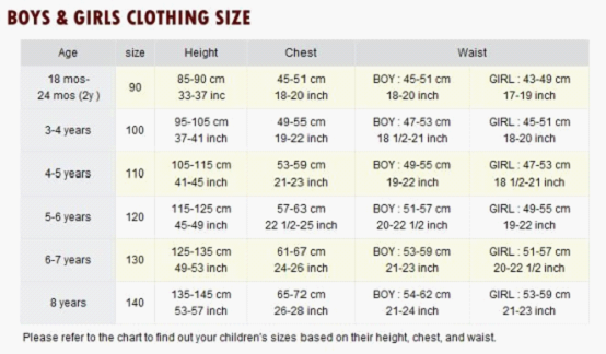 Choosing the right size is key for a comfortable fit. By using the height and weight charts below, you can easily find the right size for your child. Please note that dual sizes (, for example) are sized generously for a comfortable fit, with room to grow.